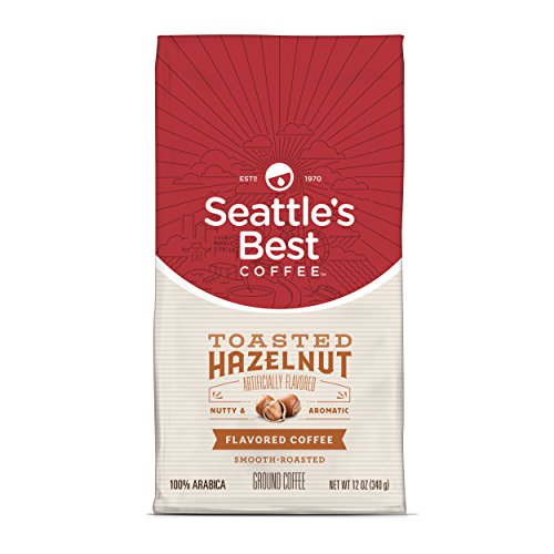 Seattle's Best Coffee Toasted Hazelnut Flavored Medium Roast