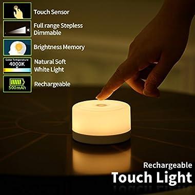 FC-Fancier Dimmable Light,Touch Sensor Bedside Lamp, Kids Children Adult Nightlight,Bedroom Living Room Baby Nursery Night Light