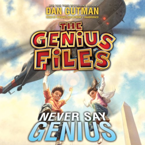 Never Say Genius audiobook cover art