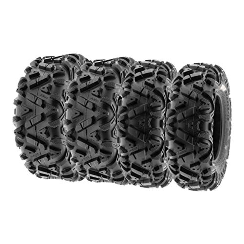 SunF 27x9-14 27x11-14 ATV UTV Tires 6 PR Tubeless A033 POWER I [Bundle]