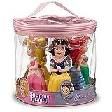 Disney Parks Princess Squeeze Toys Set Including Ariel, Belle, Aurora, Cinderella, and Snow White