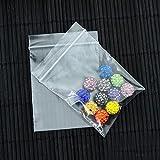 Immagine 2 nuosen 100 sacchetti trasparenti con