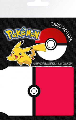 1art1 Pokemon - Pokeball Tarjeteros para Tarjetas De Crédito (10 x 7cm)