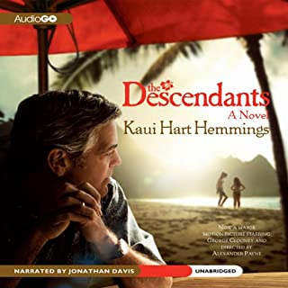 The Descendants audiobook cover art