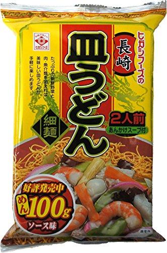 【ケース販売】ヒガシフーズ 長崎皿うどん120.8g×20袋 ソース味