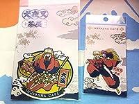大阪ステッカー&犬夜叉かごめステッカー セット犬夜叉カフェアニメ ご当地 販売終了品 半妖の夜叉姫