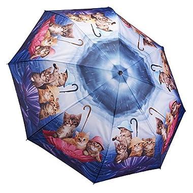 Galleria Kittens Ahoy Folding Umbrella