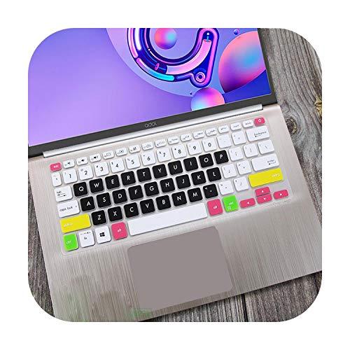 Funda protectora de silicona para teclado portátil ASUS Vivobook S14 S430UN S430FN S430F S430U S430FA S430 S 12 14 Pulgadas-candyblack-