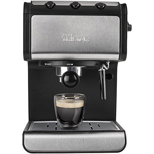 Tristar CM-2273 espressomachine met melkschuimsproeier, 1,4 liter, waterreservoir met automatische uitschakelfunctie