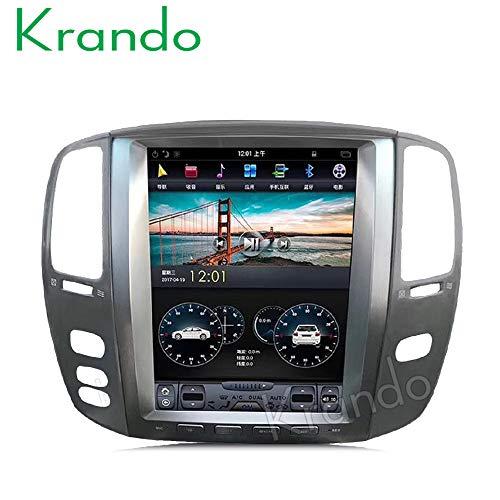 Autoradio Krando Android GPS voor Lexus Lx470 2002-2007 android 6.0 12.1