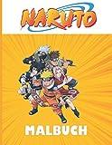 naruto malbuch: NARUTO Malbuch für Kinder und Erwachsene + 35 HD Einzigartigen Zeichnung Ausmalbilde...