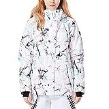 YOJOLO Chaqueta Esquí Mujer A Prueba De Viento Impermeable Abrigado Chaqueta Snowboard Invierno Traje De Esquí Térmico Traje De Nieve Ropa De Esquí,B,M