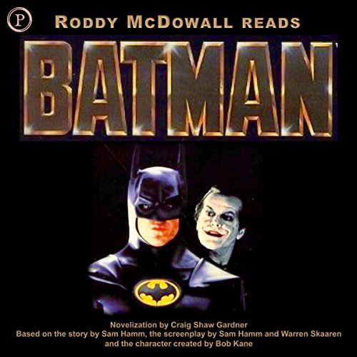 Batman audiobook cover art