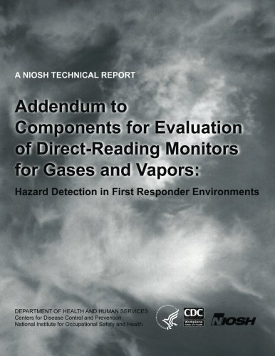 Addendum to Components for Evaluation of Direct-Reading Monitors for Gases and Vapors: Hazard Detection in First Responder Environments