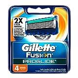 Gillette Fusion ProGlide - Cabezal para maquinilla de afeitar, 4 unidades