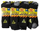 12x Mens Hard Wearing Work Socks - Safety Boot Socks - Excellent Quality