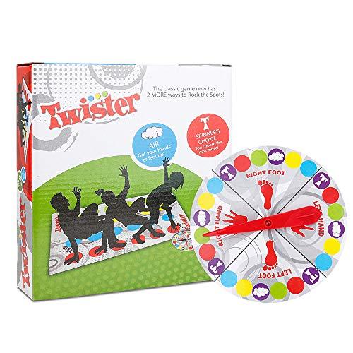 IWILCS Twister Juego, tapete de Juego Infantil, Juego de Fiesta, Juegos de Habilidad para niños y Adultos, Manta de Juegos de Mesa