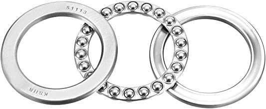 uxcell 51113 Single Direction Thrust Ball Bearings 65mm x 90mm x 18mm Chrome Steel