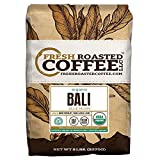 Fresh Roasted Coffee LLC, Bali Blue Moon Coffee, USDA Organic, RFA Certified, Medium Roast, Whole Bean, 5 Pound Bag