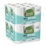 100% Recycled Bathroom Tissue, 2-Ply, White, 240 Sheets/roll, 48/carton4