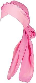 MoreChioce cappello donna elegante Turbante Copricapo,Berretto di panno,Cappello con Elastico,Cappellino yoga ad alta elas...