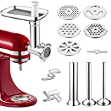 Best Meat Grinders - Metal Food Grinder Attachment Compatible with All KitchenAid Review