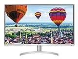 LG 32QK500 Monitor 32' Quad HD IPS, 2560 x 1440, Radeon FreeSync 75Hz, 2x HDMI, 1x Display Port, 1x Mini Display Port, Uscita Audio, Multitasking, Silver