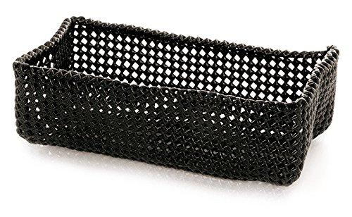 Möve 40423-199 Panier classeur, Black, 30 x 15 x 9 cm