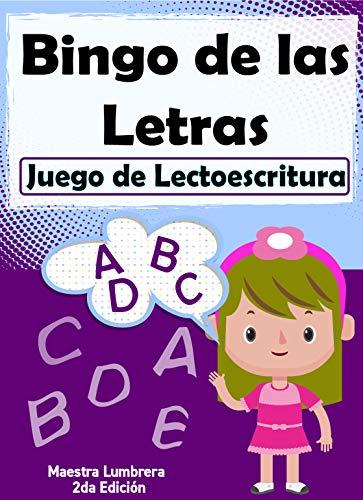 Bingo de las Letras: Juego de Lectoescritura (Maestra Lumbrera nº 12)