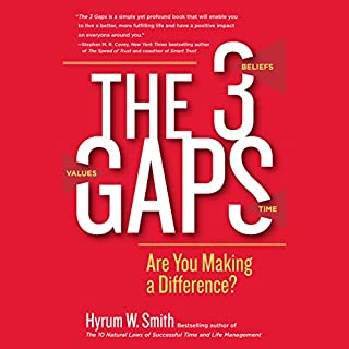 The 3 Gaps: Are You Making a Difference? audiobook cover art