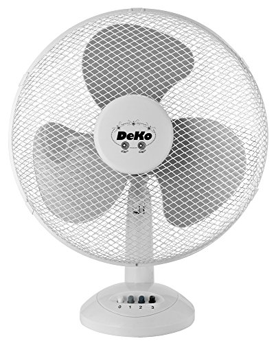 Deko Stratos B 40530W Weiß–Lüfter (weiß, 30W, AC 230V)