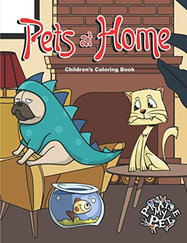 Pets at Home: Children's Coloring Book