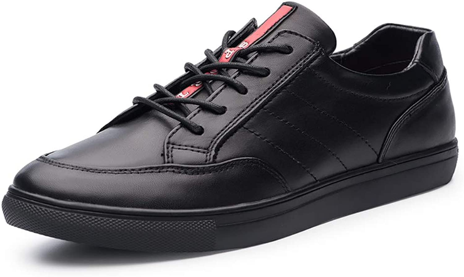 Men's Oxford Leather Non-Slip Casual Driving shoes