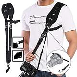 Courroie Appareil Photo, Prowithlin Sangles pour appareils Photo SLR DSLR (Canon Nikon Sony Olympus Pentax, etc.)