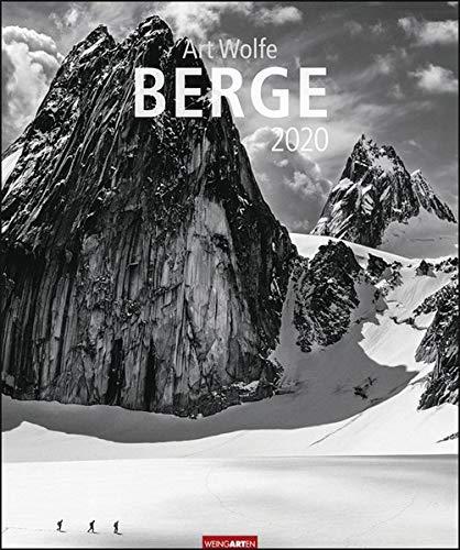 Berge. Wandkalender 2020. Monatskalendarium. Spiralbindung. Format 46 x 55 cm