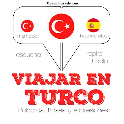 Viajar en turco audiobook cover art