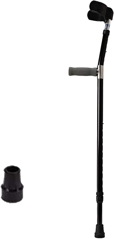 Philadelphia Mall Adjustable Crutches Ergonomic Handle Thick Comfort Columbus Mall Alumin