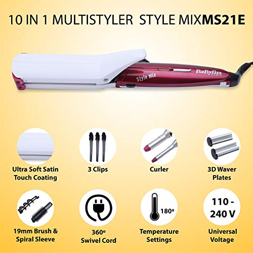Babyliss Multistyler Style Mix 10 in 1 MS21E - 2