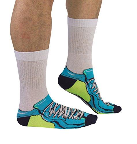 trendaffe Fußballschuh Socken für Männer im Paar - Fußballschuhe Strumpf