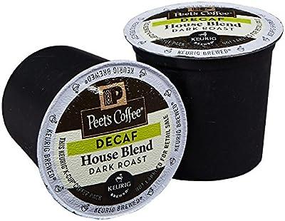 Peet's House Blend Decaf 120 Single Cups