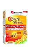 Forté Pharma Forté Royal Ginseng'Energie Complement Alimentaire à Base de Ginseng Ampoules de 10 ml 20 Unités