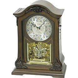 Rhythm Clocks American Pride Wooden Musical Mantel Clock