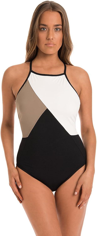 Miraclesuit Amoressa Women's Tatiana High Neck One Piece Swimsuit Swimsuit