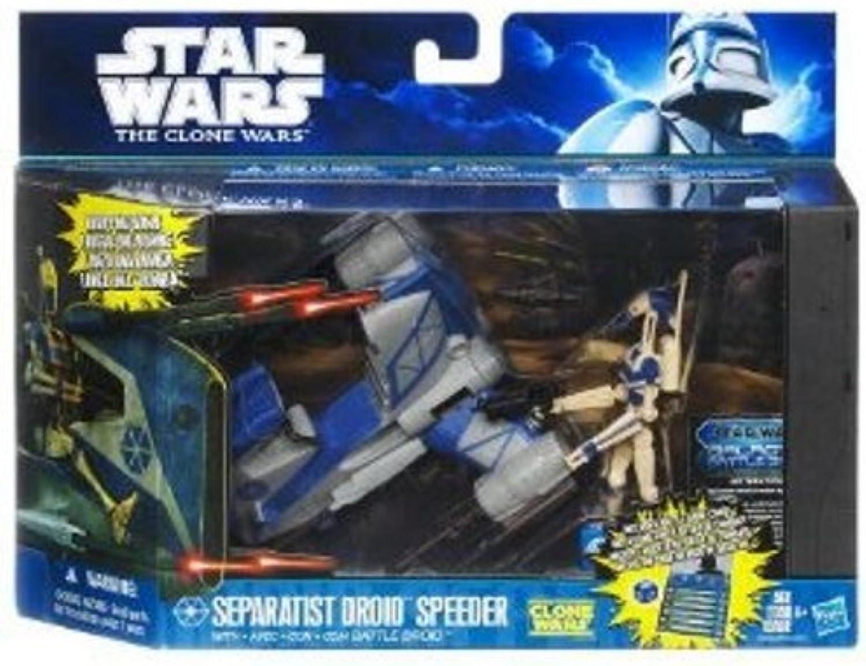 Hasbro 29958 - Star Wars Class I Fahrzeug - Separatist Droid Speeder + Battle Droid