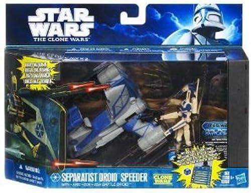 diseñador en linea Separatist Droid Speeder & 3.75inch 3.75inch 3.75inch Droid Action Figure - Class I Fleet Vehic...  en stock