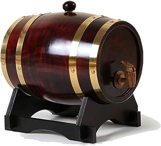 HWhome Fût De Pin Multi-spécifications, Couleur Rétro Baril De Vieillissement en Baril De Whisky De Pin, Convient Au Bar, ...