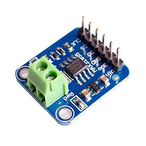 daorier max31855Typ K Thermoelement Breakout Board Temperatur-200°C bis + 1350°C SPI Ausgang für Arduino