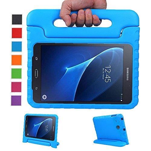 LEADSTAR Kinds Funda para Samsung Galaxy Tab A 7.0 caso niños EVA destinado a prueba de golpes cubierta estuche protector caso para Samsung Tab A SM-T280 T285 7.0 Pulgadas - Azul