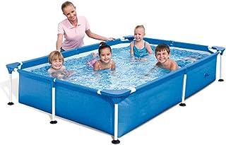 Piscina de adultos gruesa para el hogar- piscina inflable- bano para mascotas (221 x 150 x 43 cm)