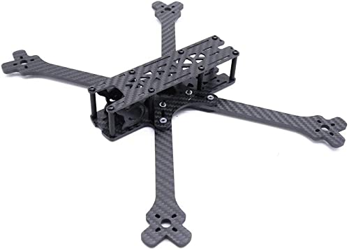 Desconocido Generic Kosoku 7 300mm Wheelbase 4mm Arm Thickness Carbon Fiber 7 Inch Frame Kit for RC Drone FPV Racing